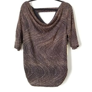 NWT Gold Sparkle Top
